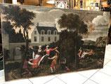 Tableau Grand Format XVIIIème Hollandais