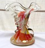 """Vase en verre soufflé FRANCE """"Le Palais de Verre"""""""