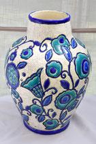 Grand Vase Boch Frères (la Louviere) & La Maitrise