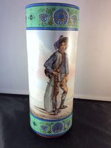 Vase En Faïence Montereau - Lebeuf Et Millet