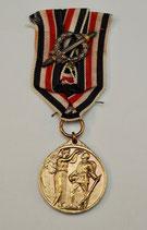 Ehrengedenkmünze mit Kampfabzeichen der Ehrenlegion