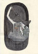 """XXL Postkarte (A5) """"Neue Dimension"""""""