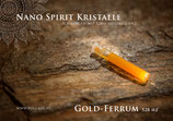 Gold Meteorit Spirit Kristalle - in 1,5 ml Phiole - 528 Hz