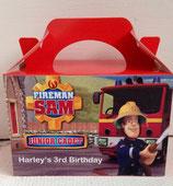 Fireman Sam DIY Party Box/Bag LABELS Ref PB43 **NO BOX OR BAG SUPPLIED**