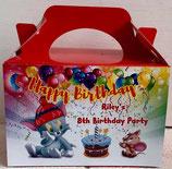 Tom & Jerry DIY Party Box/Bag LABELS Ref PB52 **NO BOX OR BAG SUPPLIED**