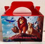 Lion King DIY Party Box/Bag LABELS Ref PB48 **NO BOX OR BAG SUPPLIED**