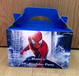 Spider Man DIY Party Box/Bag LABELS Ref PB21 **NO BOX OR BAG SUPPLIED**