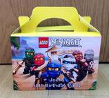 Lego Ninja DIY Party Box/Bag LABELS Ref PB38 **NO BOX OR BAG SUPPLIED**