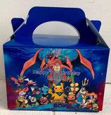 Pokamon DIY Party Box/Bag LABELS Ref PB47 **NO BOX OR BAG SUPPLIED**
