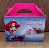 Ariel DIY Party Box/Bag LABELS Ref PB23 **NO BOX OR BAG SUPPLIED**