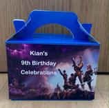 Fortnite DIY Party Box/Bag LABELS Ref PB19 **NO BOX OR BAG SUPPLIED**