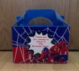 Spiderman DIY Party Box/Bag LABELS Ref PB35 **NO BOX OR BAG SUPPLIED**