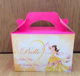 Princess Belle DIY Party Box/Bag LABELS Ref PB59 **NO BOX OR BAG SUPPLIED**