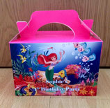 Ariel DIY Party Box/Bag LABELS Ref PB16 **NO BOX OR BAG SUPPLIED**