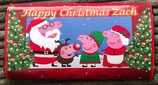 DIY Galaxy WRAPPER Personalised To fit the 114g Bar Ref Peppa Pig Red