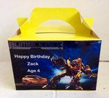 Bumblebee DIY Party Box/Bag LABELS Ref PB22 **NO BOX OR BAG SUPPLIED**