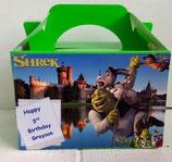 Shrek DIY Party Box/Bag LABELS Ref PB32 **NO BOX OR BAG SUPPLIED**