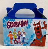 Scooby Doo DIY Party Box/Bag LABELS Ref PB44 **NO BOX OR BAG SUPPLIED**