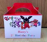 Bing DIY Party Box/Bag LABELS Ref PB53 **NO BOX OR BAG SUPPLIED**