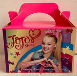 JoJo Siwa DIY Party Box/Bag LABELS Ref PB40 **NO BOX OR BAG SUPPLIED**