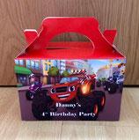 Blaze DIY Party Box/Bag LABELS Ref PB56 **NO BOX OR BAG SUPPLIED**