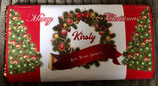 DIY Galaxy WRAPPER Personalised To fit the 114g Bar Ref Wreath
