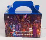 Five Nights At Freddies DIY Party Box/Bag LABELS Ref PB60 **NO BOX OR BAG SUPPLIED**