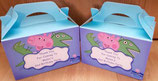 Peppa Pig George DIY Party Box/Bag LABELS Ref PB10 **NO BOX OR BAG SUPPLIED**