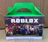 Roblox DIY Party Box/Bag LABELS Ref PB57 **NO BOX OR BAG SUPPLIED**