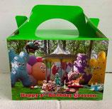 Night Garden DIY Party Box/Bag LABELS Ref PB24 **NO BOX OR BAG SUPPLIED**