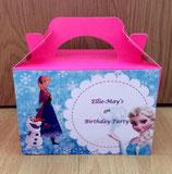 Frozen DIY Party Box/Bag LABELS Ref PB17 **NO BOX OR BAG SUPPLIED**
