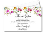 Thank you Card Personalised Ref TH11