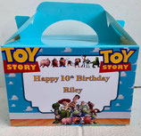 Toy Story DIY Party Box/Bag LABELS Ref PB46 **NO BOX OR BAG SUPPLIED**