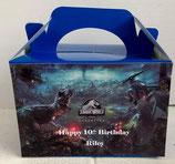 Jurasic World DIY Party Box/Bag LABELS Ref PB25 **NO BOX OR BAG SUPPLIED**