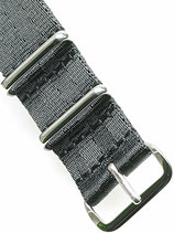 XL Seatbelt Nato »Panther« Polished
