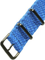 Braided Nato PVD blau
