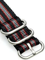 Zulu HC 3 Ring »Real Bond Grey«
