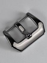 Polierte Edelstahl-Schließe, Pre-V Style 22 mm