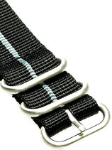 Zulu HC 5 Ring »Stripey Grey«