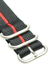 Zulu HC 5 Ring »Stripey Rot«