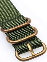 Zulu Bronze grün 20 mm