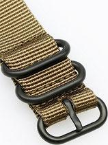 Zulu PVD 3 Ring sandfarben