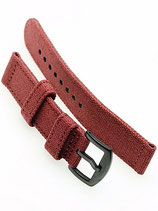 Canvas Split PVD »Rosso Corsa« dunkelrot