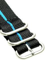 Zulu HC 5 Ring »Stripey Blue«