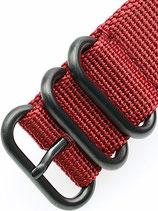 Zulu Kingsize PVD »Crimson« 18mm