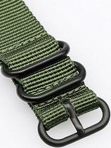 Zulu PVD 3 Ring grün