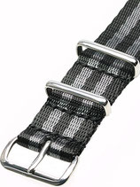 Seatbelt Nato »Commander« Polished