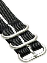 Zulu HC 5 Ring »Stripey White«
