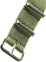 Seatbelt Nato »Olea« Polished