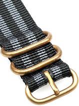 Zulu Bronze 5 Ring »Bond«